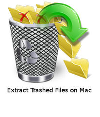 extract trashed files on Mac