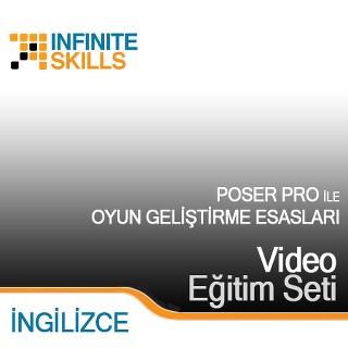 InfiniteSkills.com Video Eğitim Seti - Poser Pro ile Oyun Geliştirme Esasları - İngilizce