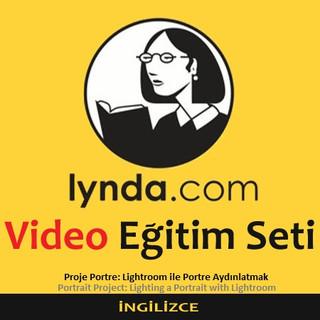 Lynda.com Video Eğitim Seti - Proje Portre Lightroom ile Portre Aydınlatmak - İngilizce