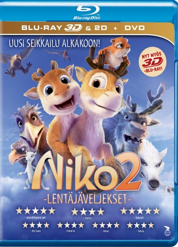 Niko e Johnny - Due renne nei guai (2012) ISO BDRA 3D 2D BluRay DTS ITA DTS-HD ENG - DDN