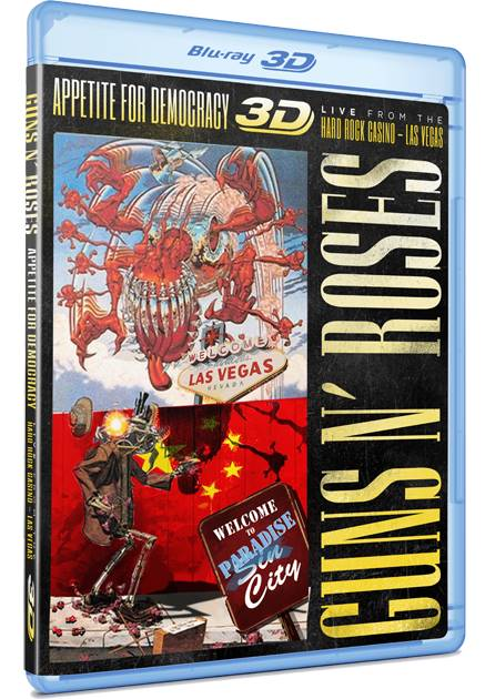 Guns N' Roses Appetite For Democracy (2014) ISO 2D 3D BluRay AVC DTS HD MA ENG