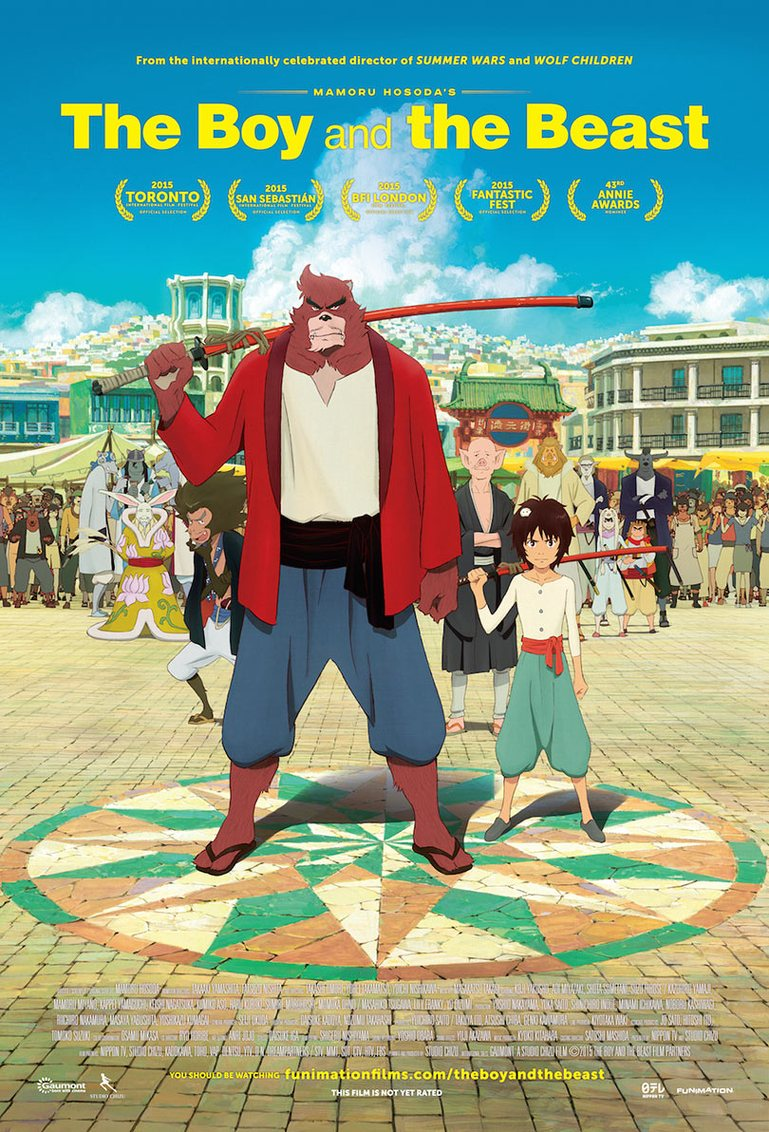 The Boy And The Beast (2015) DvD 5