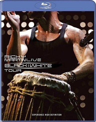 Ricky Martin Live - Black And White Tour (2007) BluRay Full AVC LPCM AC3
