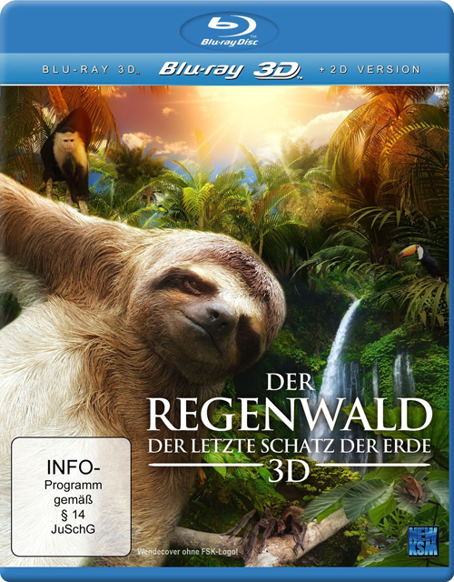 The Secret Life of the Rainforest (2011) MKV 3D Half OU Untoched AC3 ITA DTSHD ENG - DDN