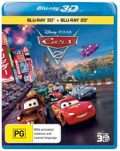 Cars 2 3D (2011) MKV Half-OU [VU] 1080p DTS ITA FRA+ AC3 Subs - DDN