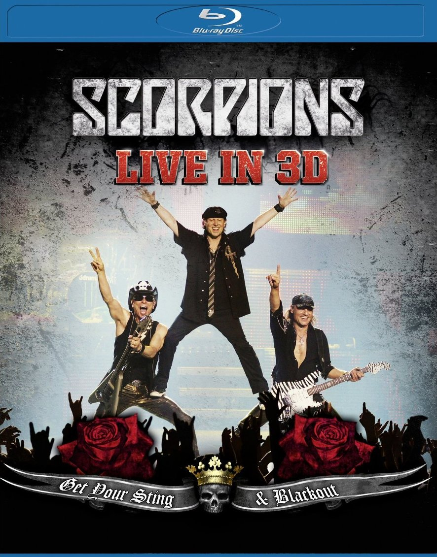 Scorpions Live In 3D Get Your Sting Blackout (2011) Blu-ray 3D 1080p AVC DTS-HD 5.1