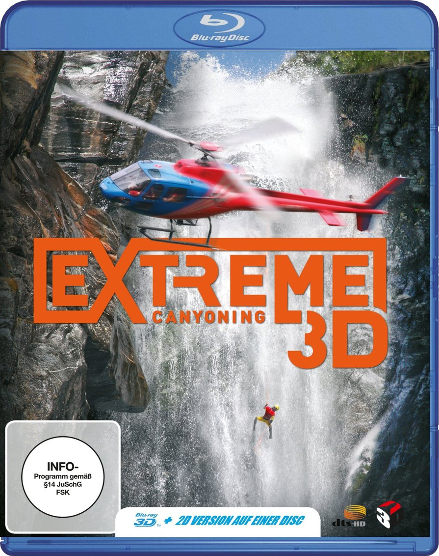 Extreme Canyoning (2012) ISO BDRA 3D 2D BluRay DTS ITA DTSHD ENG - DDN