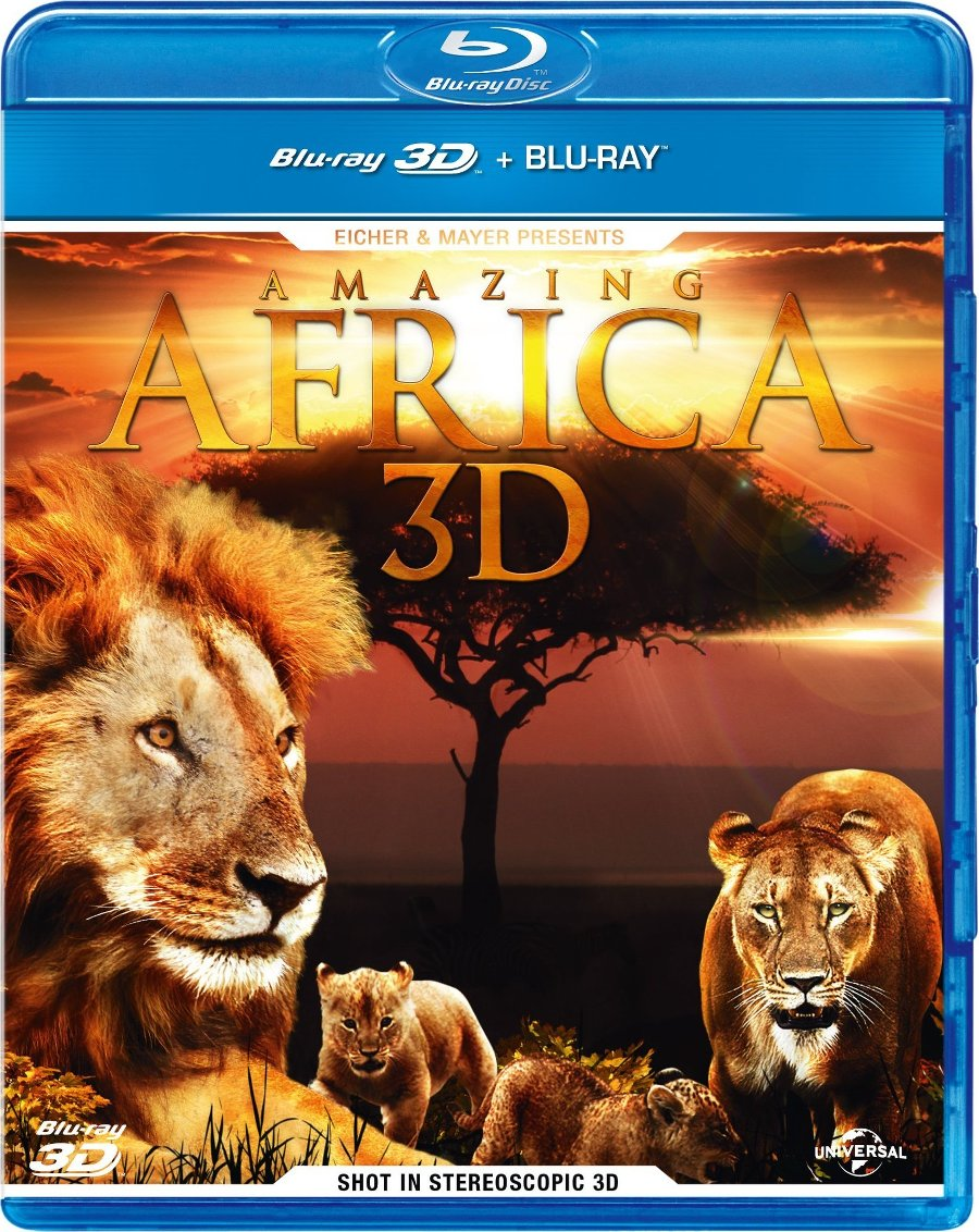 Amazing Africa (2013) BluRay Full 2D 3D AVC DTS-HD ENG DTS ITA Sub - DDN