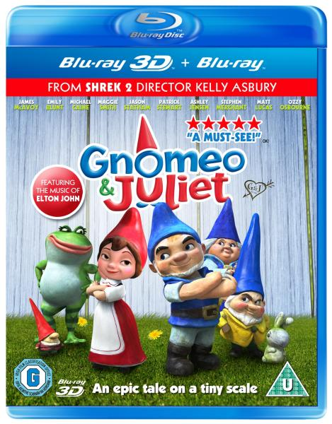Gnomeo & Giulietta (2011) ISO BDRA 3D BluRay AVC DD ITA DTS-HD ENG - DDN