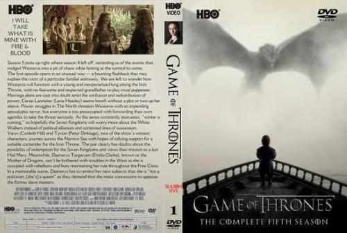 Game Of Thrones 5ª Temporada Torrent - BluRay Rip 720p Dual Áudio