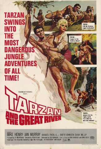 1932761020a Robert Day   Tarzan and the Great River (1967)