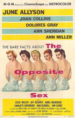theopposite1 David Miller   The Opposite Sex (1956)