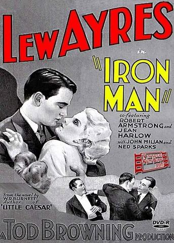 ironmanposter Tod Browning   Iron Man (1931)