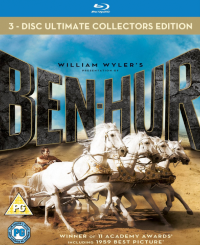 Ben-Hur (1959) [3-Discs - Ultimate Collectors Edition] Full Blu-Ray 83Gb AVC ITA DD 5.1 ENG DTS-HD MA 5.1