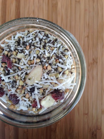 cranberry coconut almond granola