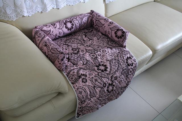 Coussin couverture panier protection canap fauteuil lit - Housse protection canape chat ...