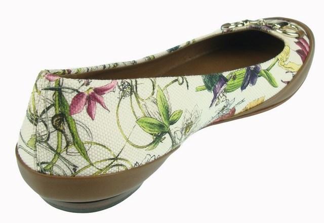 gucci flora woman flats shoes ballerinas damen shuhe 100 auth g4de ebay. Black Bedroom Furniture Sets. Home Design Ideas