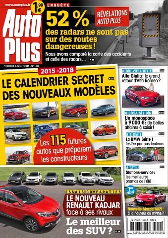 Auto Plus 1400 - 3 au 9 Juillet 2015