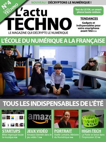L'actu Techno 4 - Aout/Septembre 2015