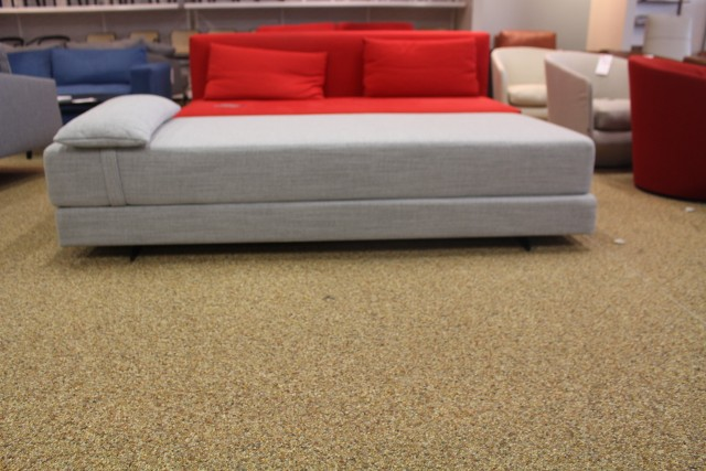 duet daybed sleeper sofa fog pebble weave softline design