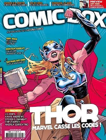 Comic Box 95 - Juillet-Aout 2015