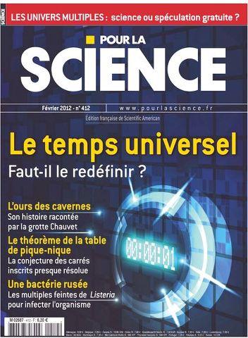 Pour la Science 412 – Le temps universel Faut-il le redéfinir ?