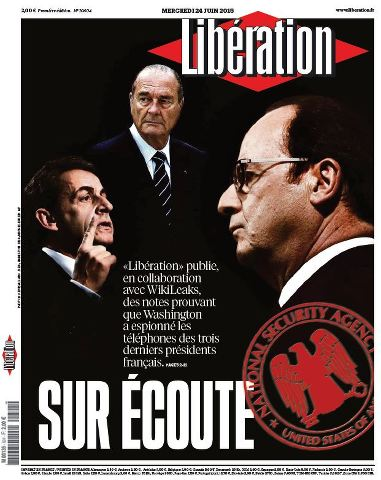 Libération du Mercredi 24 Juin 2015