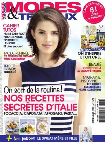 Modes & Travaux 1378 - Septembre 2015