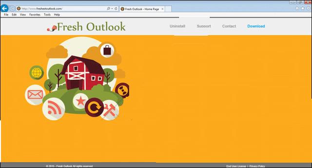Frescos Anúncios do Outlook