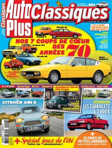 Auto Plus Classiques 20 - Juillet-Aout 2015