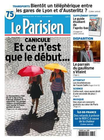 Le Parisien + journal de Paris du mardi 30 juin 2015
