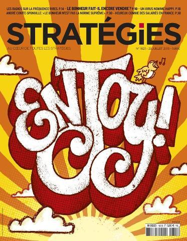 Stratégies - 23 Juillet 2015