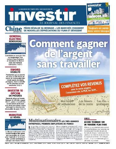 Investir - 14 Août 2015