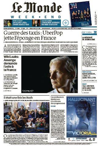 Le Monde Weekend et 4 Suppléments du Samedi 4 Juillet 2015