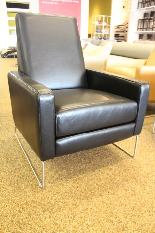 ... Flight Recliner Chair By Flight Recliner Ebony Leather Theater Chair  Design Within