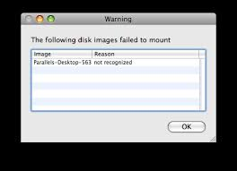DMG file is not recognized in Mac