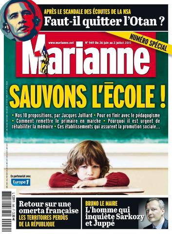 Marianne - 26 Juin au 2 Juillet 2015