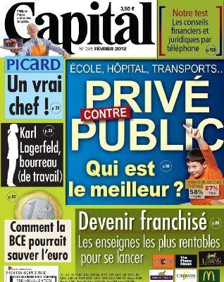 Capital 245 - privé contre public