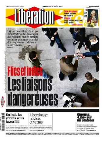 Liberation Du Mercredi 19 Août 2015