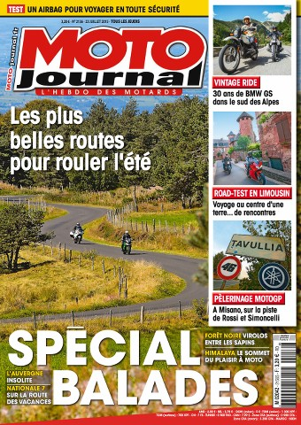 Moto Journal 2156 - 23 au 29 Juillet 2015
