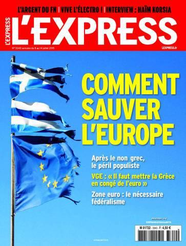 L'express 3340 - 8 au 14 Juillet 2015