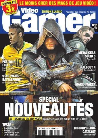 Video Gamer 31 - Juin / Juillet 2015