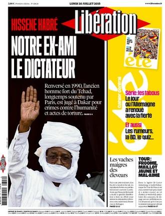 Libération Du Lundi 20 juillet 2015