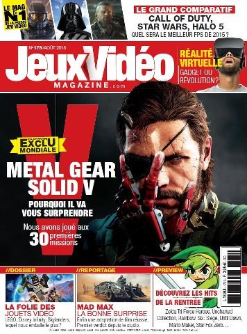 Jeux Vidéo magazine 175 - Août 2015