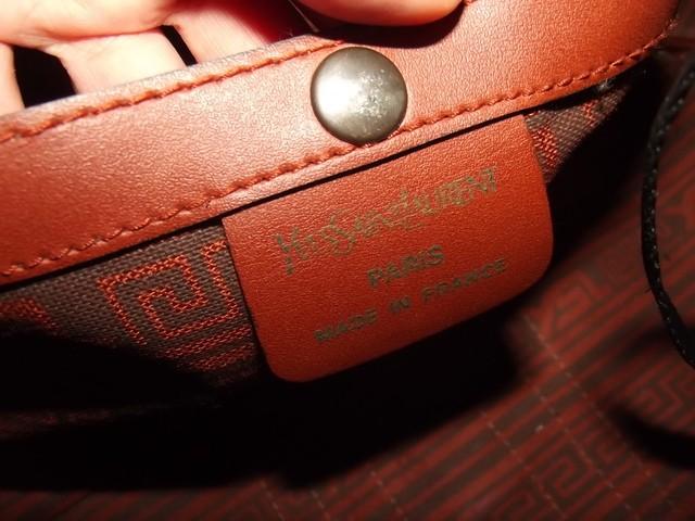 Yves Saint Laurent YSL borsa vintage bauletto viaggio borsone ...