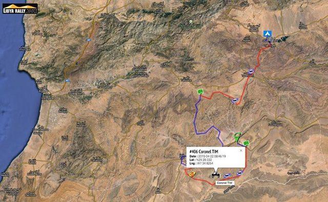 Tim Coronel Dakar Maxxis Libya Rally 2015 Quarzazate SS6