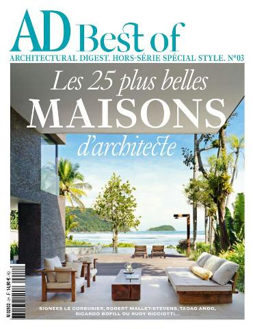 AD Best of Architectural Digest HS 3 - Spécial Style 2015