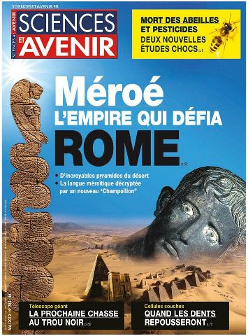 Sciences et avenir 783 - Méroé : l'empire qui défia Rome