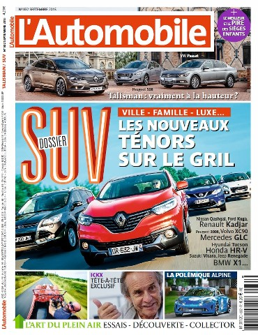L'Automobile - Septembre 2015