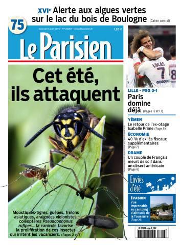 Le Parisien + journal de Paris du samedi 08 aout 2015